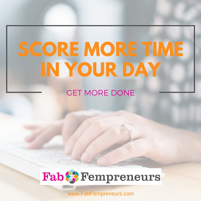 Your Business Touchdown: How to Score More Time in Your Day