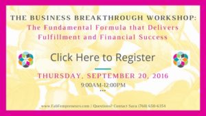 business breakthrough workshop