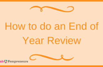 How to do an End of Year Review