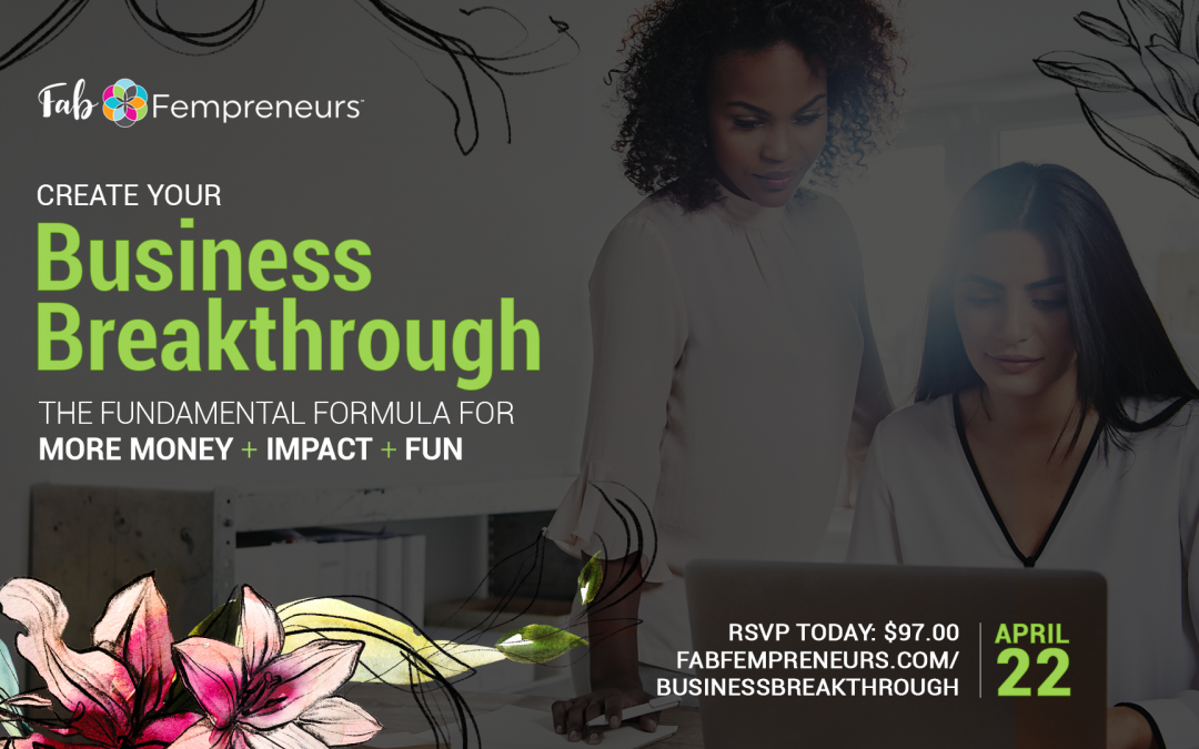 Create Your Business Breakthrough WORKSHOP