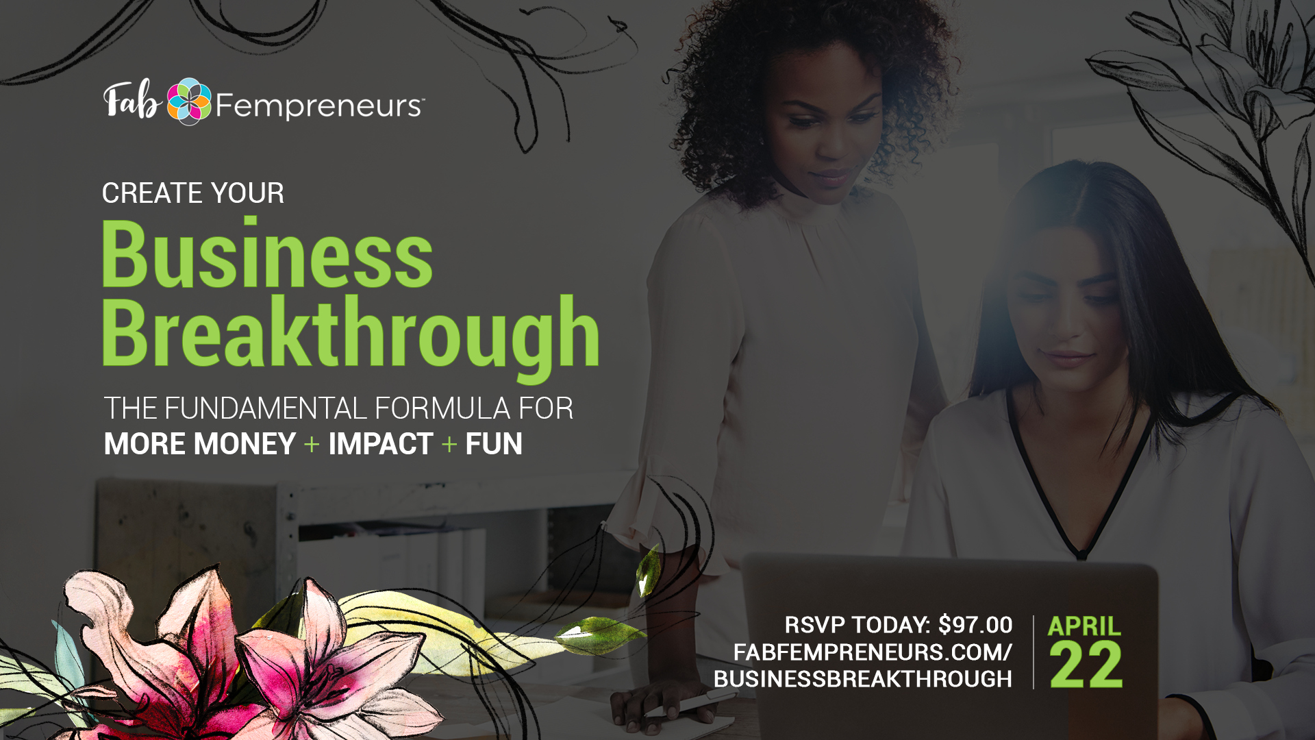 business breakthrough workshop for women entrepreneurs