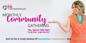 free networking event for women