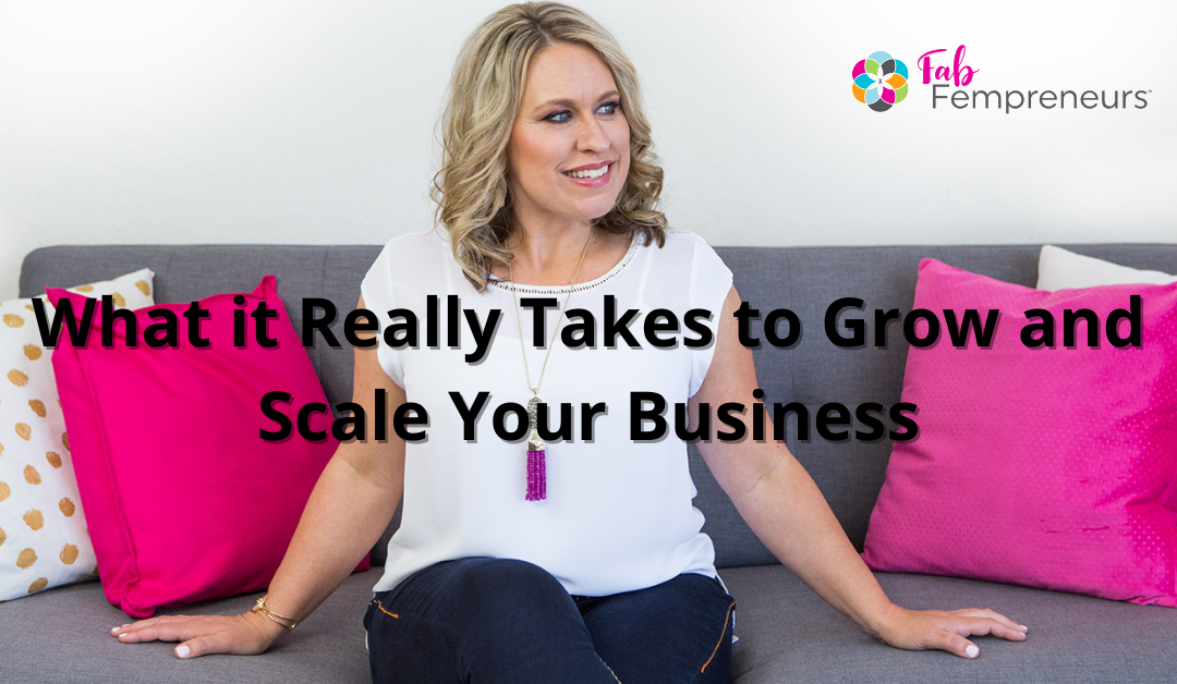 grow and scale your business